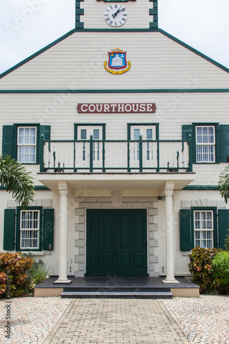 The courthouse in St.Martin