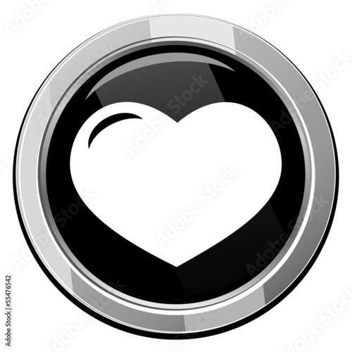 Vector icon isolated - Human organ. Heart