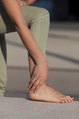 Fußverletzung