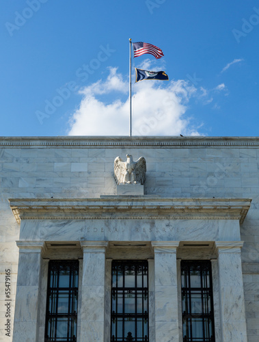 Federal Reserve building HQ Washington DC