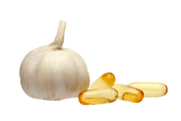 garlic and oil capsule