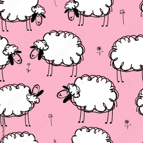 smieszni-sheeps-na-lace-bezszwowy-wzor-dla-twoj-projekta