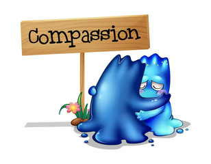 Two compassionate monsters