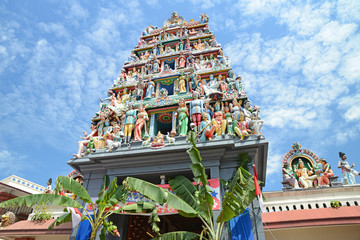 Sri Mariamman Hindu Temple Of Singapore