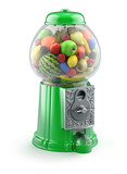 Fruits in the gumball machine