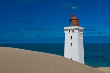 Lighthouse on a Sand Dune