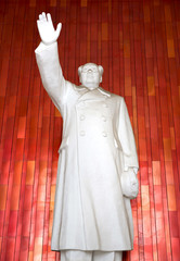 Beijing - Statue of Mao