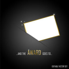 AWARD editable vector set