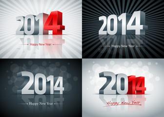 2014 Happy New Year Set