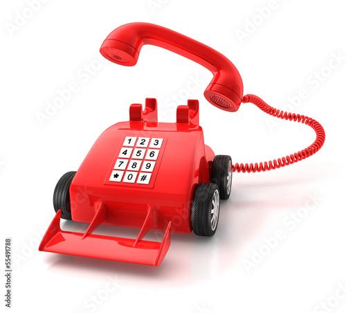 Rotes Telefon 2