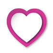 HEART ICON (i love you card romance valentine's day pink)