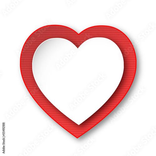 COEUR (je t'aime cœur déclaration amoureux saint valentin carte)