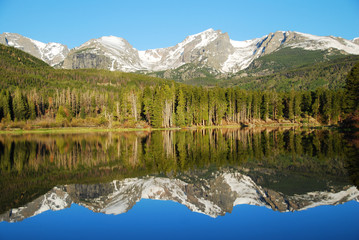Sprague lake, Rocky Mountain National Park, CO, USA