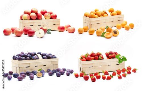 Verschiedene Früchte im Korb