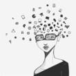Social network head