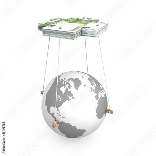 Money manipulate earth