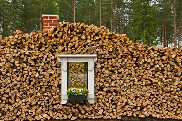 Das Fenster im Holz 3