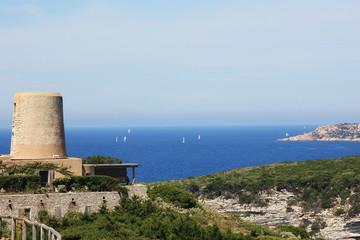Bonifacio. Korsika