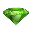 Emerald green icon