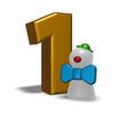 nummer eins und clown
