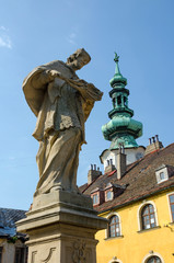John of Nepomuk statue Bratislava