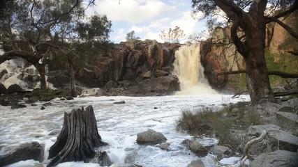Nigretta Falls waterfall in Western Victoria, Australia