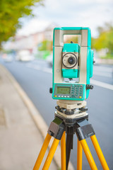 electronical theodolite
