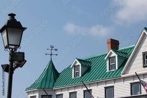 tejado casa americana