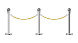 Stand rope barriers