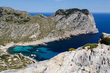 Blick auf die Cala Figuera, Mallorca