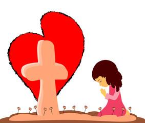 Prayer at the Cross