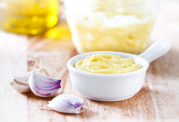 Garlic sauce Aioli
