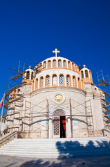 The church of St. Constantine and Helen. Glyfada, Greece.