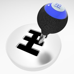Isolated gearshift isolated