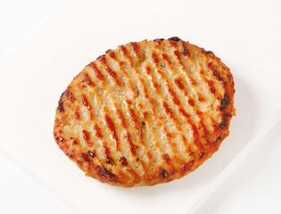 Pan seared burger