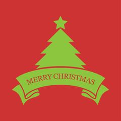 Merry Christmas, Vector illustration.