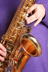 Saxofon spielen