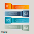 Modern Infographic template, vector illustration.