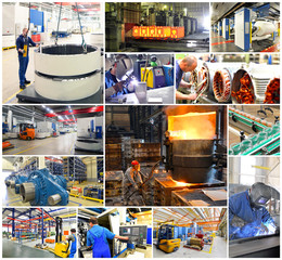 Industry Jobs Collage