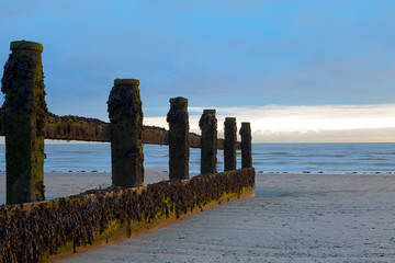 Groyne at Sunset in Littlehampton