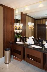 Restroom in hotel
