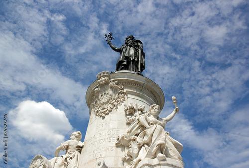 La République français, statue L. Morice (1846/1919) Paris