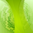 Elegant green technology background