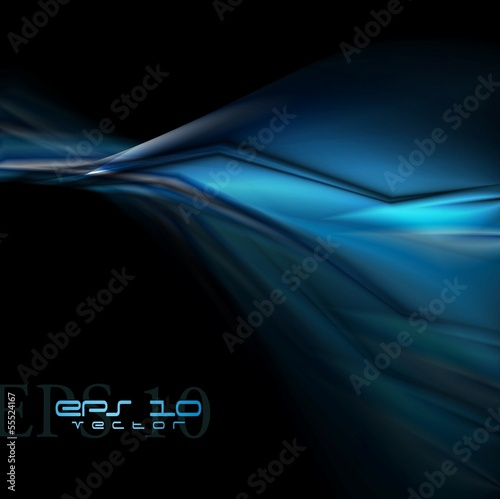 Colourful vector dark blue design