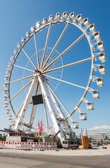 Riesenrad in der Hamburger Hafencity
