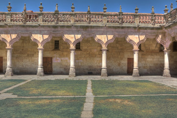 Patio of the Minor Schools in Salamanca