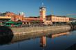 Leinwanddruck Bild - Malmö Central Station