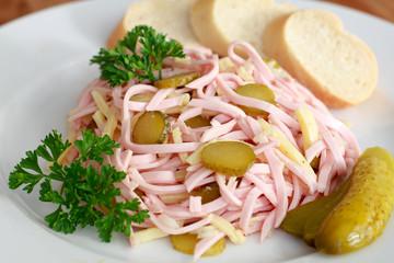 Schweiter Wurstsalat