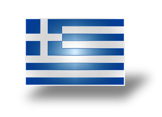 Flag of Greece (stylized I).