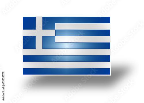 Flag of Greece (stylized I).